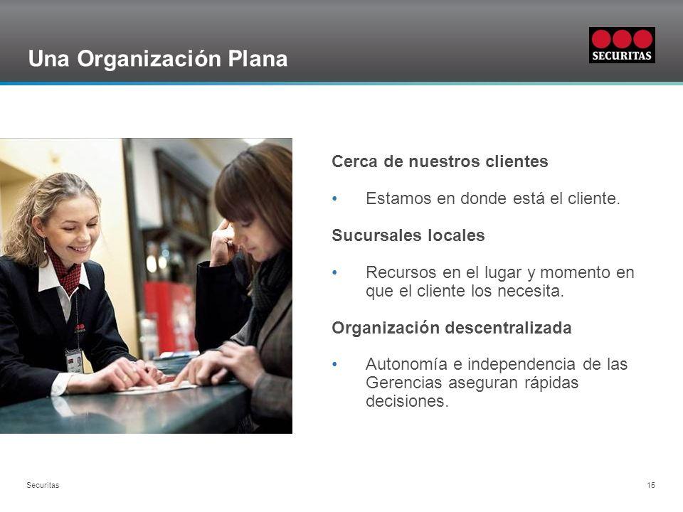 Una Organización Plana
