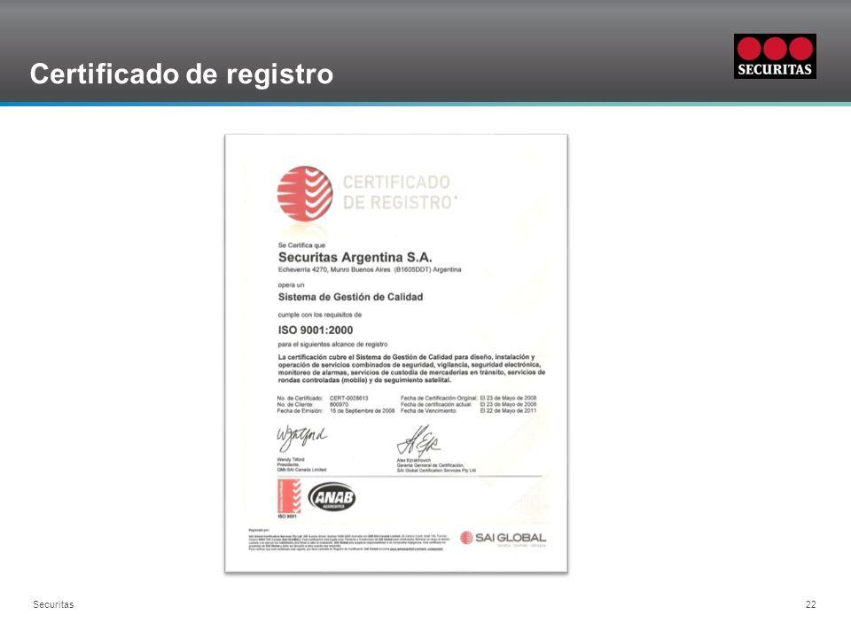 Certificado de registro