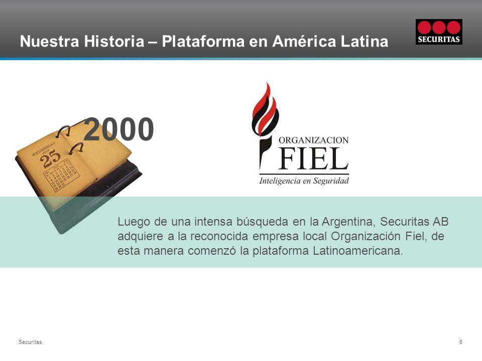 Nuestra Historia – Plataforma en América Latina