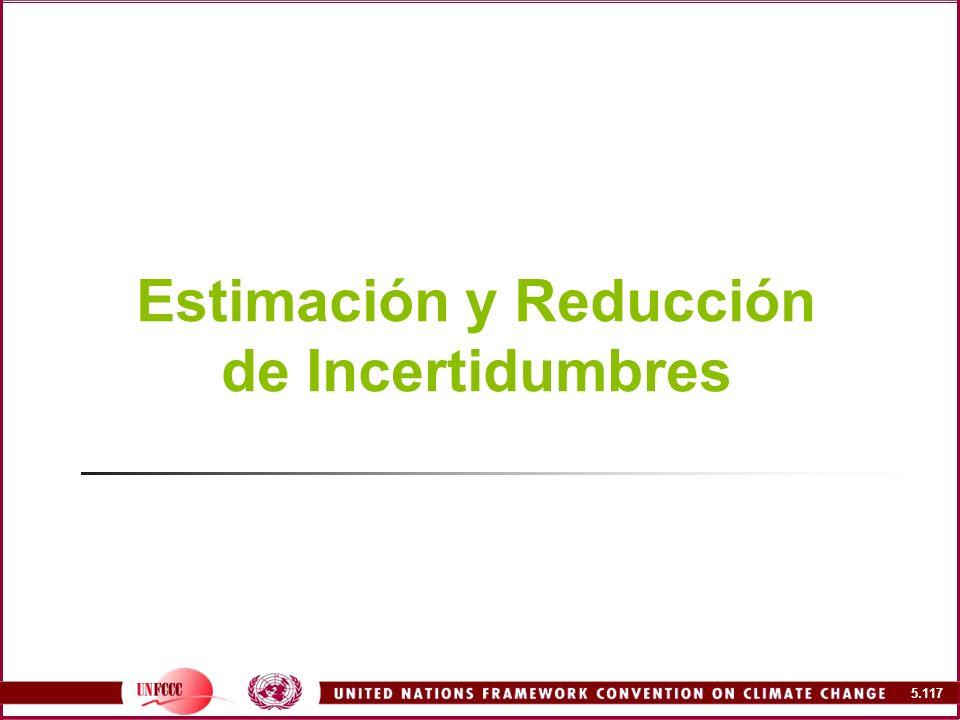 Estimación y Reducción de Incertidumbres