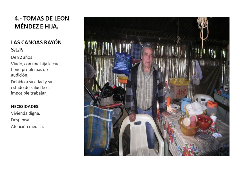 4.- TOMAS DE LEON MÉNDEZ E HIJA.