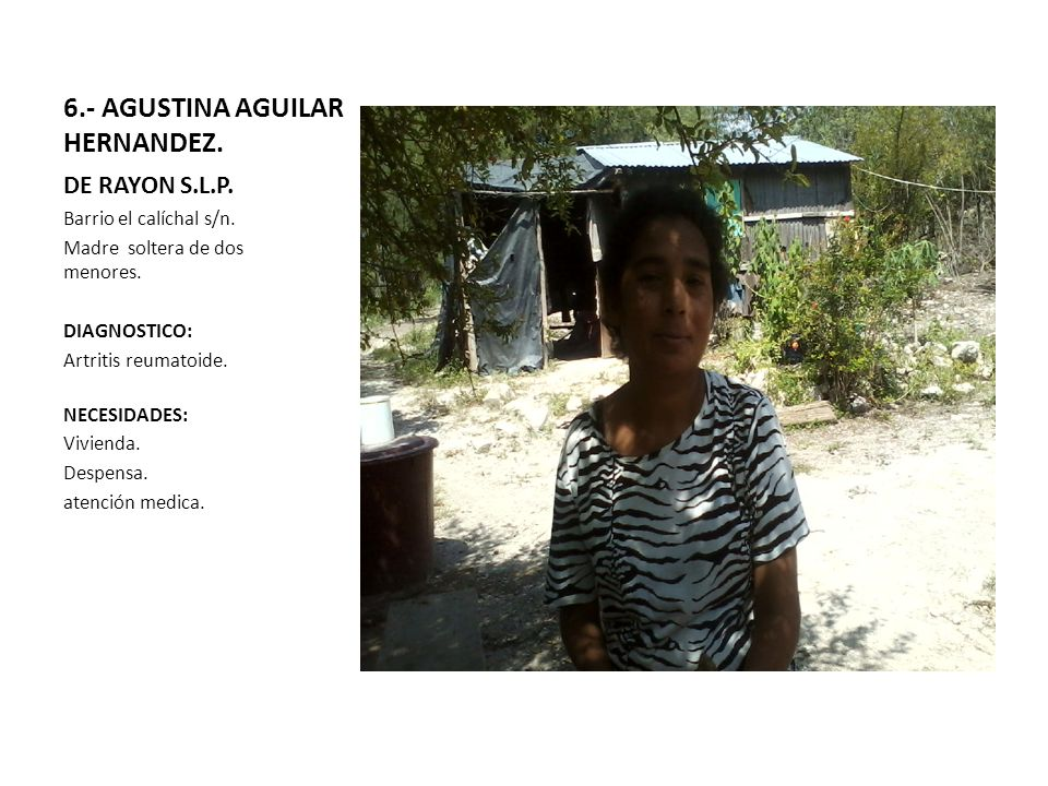 6.- AGUSTINA AGUILAR HERNANDEZ.