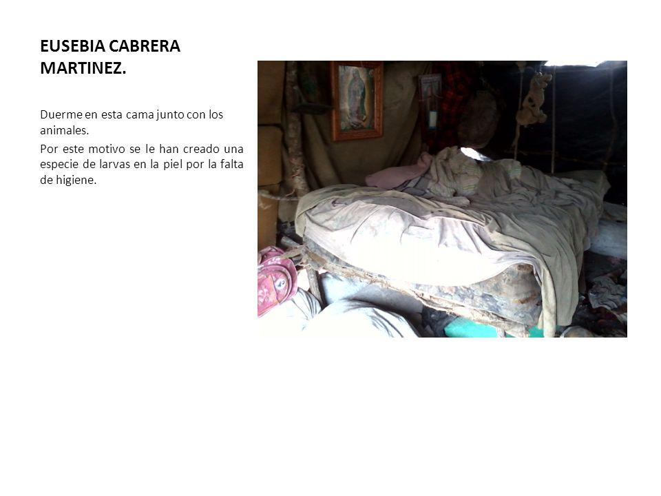 EUSEBIA CABRERA MARTINEZ.