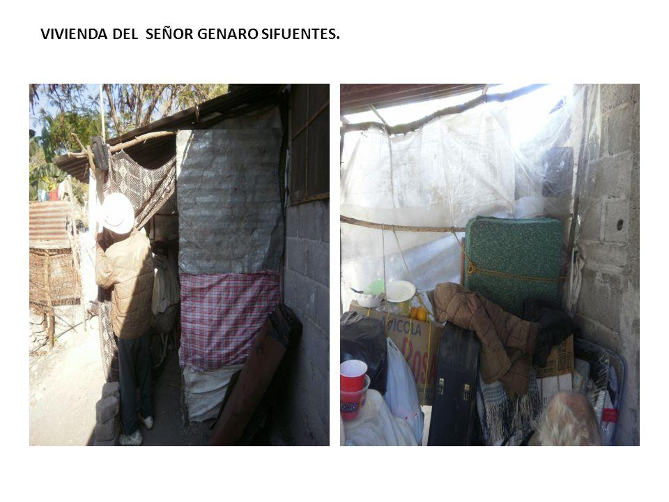 VIVIENDA DEL SEÑOR GENARO SIFUENTES.