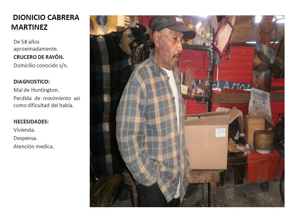 DIONICIO CABRERA MARTINEZ