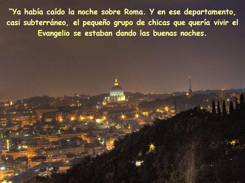 Ya había caído la noche sobre Roma