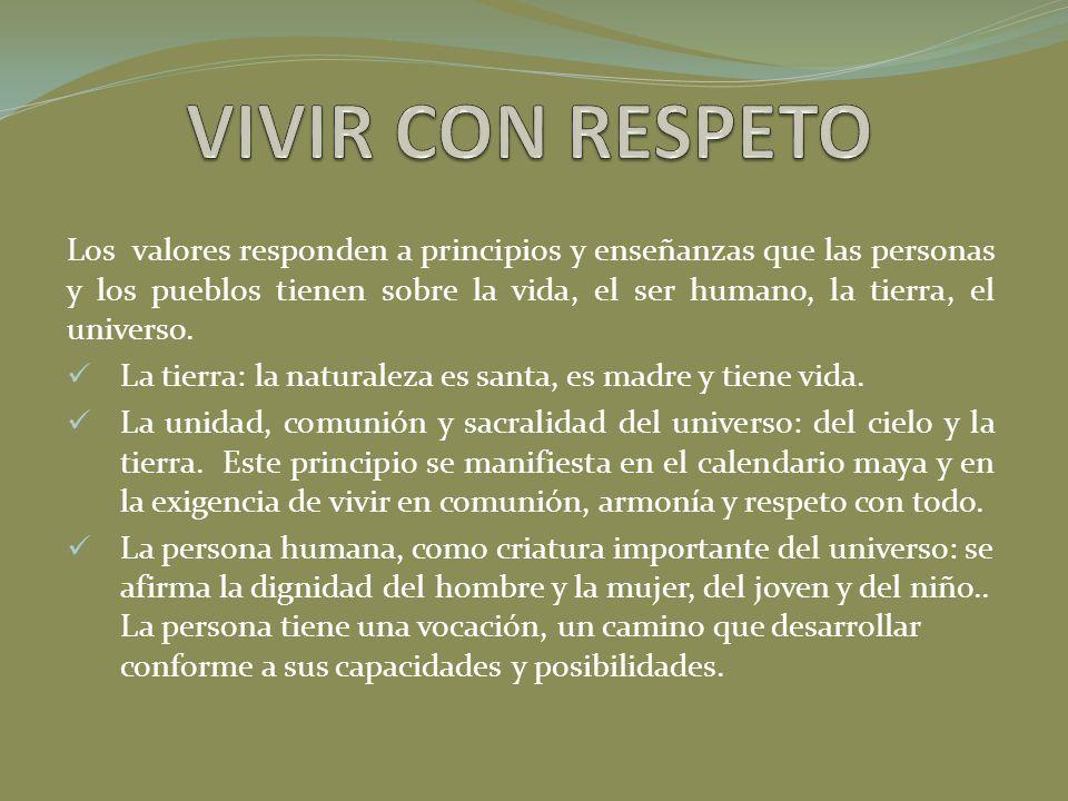 VIVIR CON RESPETO