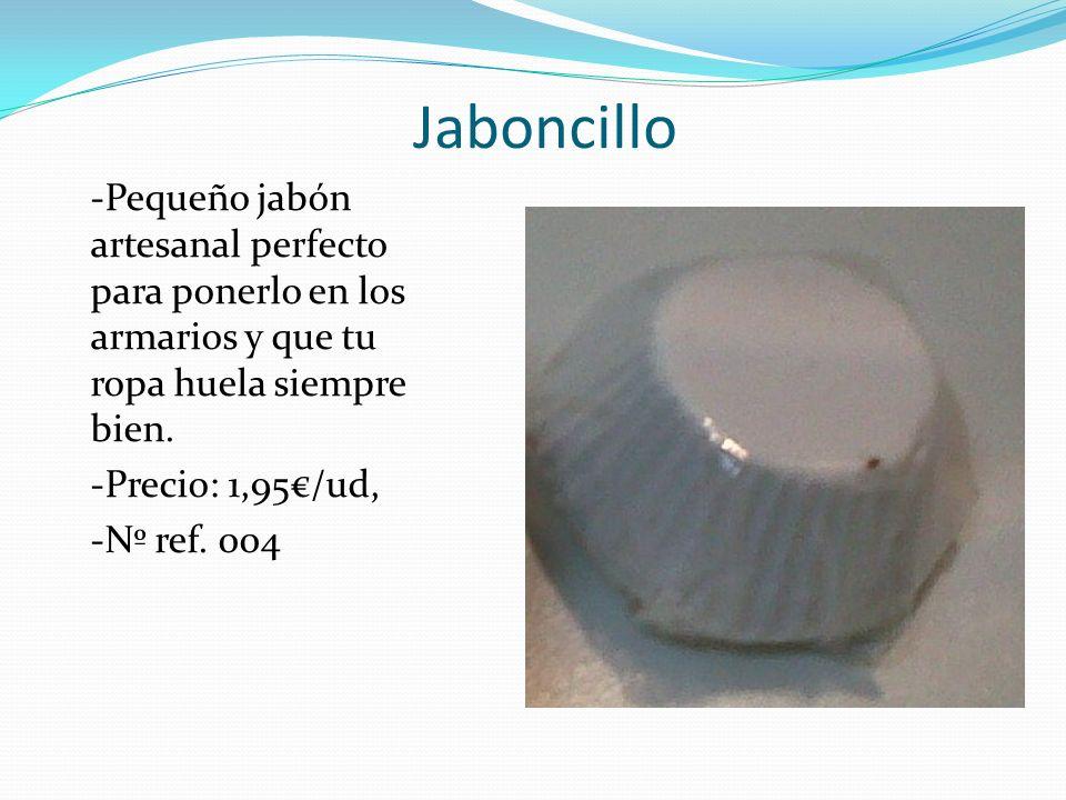 Jaboncillo -Pequeño jabón artesanal perfecto para ponerlo en los armarios y que tu ropa huela siempre bien.
