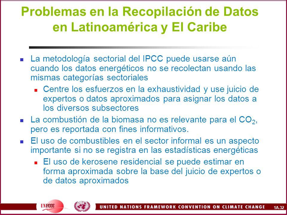 Problemas en la Recopilación de Datos en Latinoamérica y El Caribe