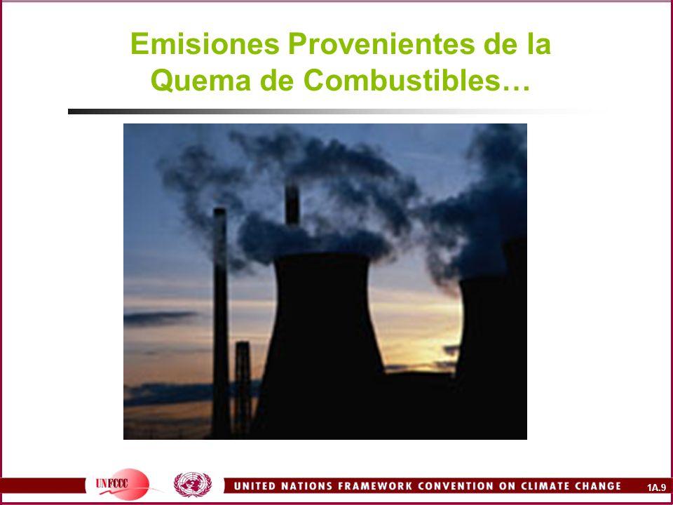 Emisiones Provenientes de la Quema de Combustibles…