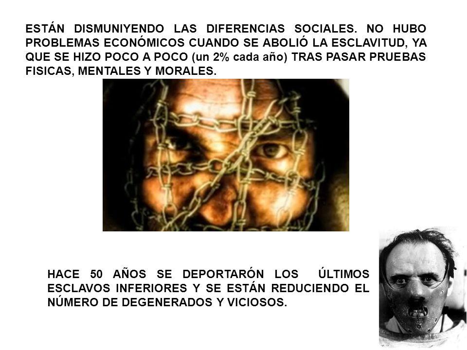 ESTÁN DISMUNIYENDO LAS DIFERENCIAS SOCIALES
