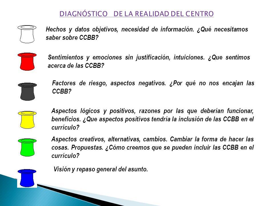 DIAGNÓSTICO DE LA REALIDAD DEL CENTRO
