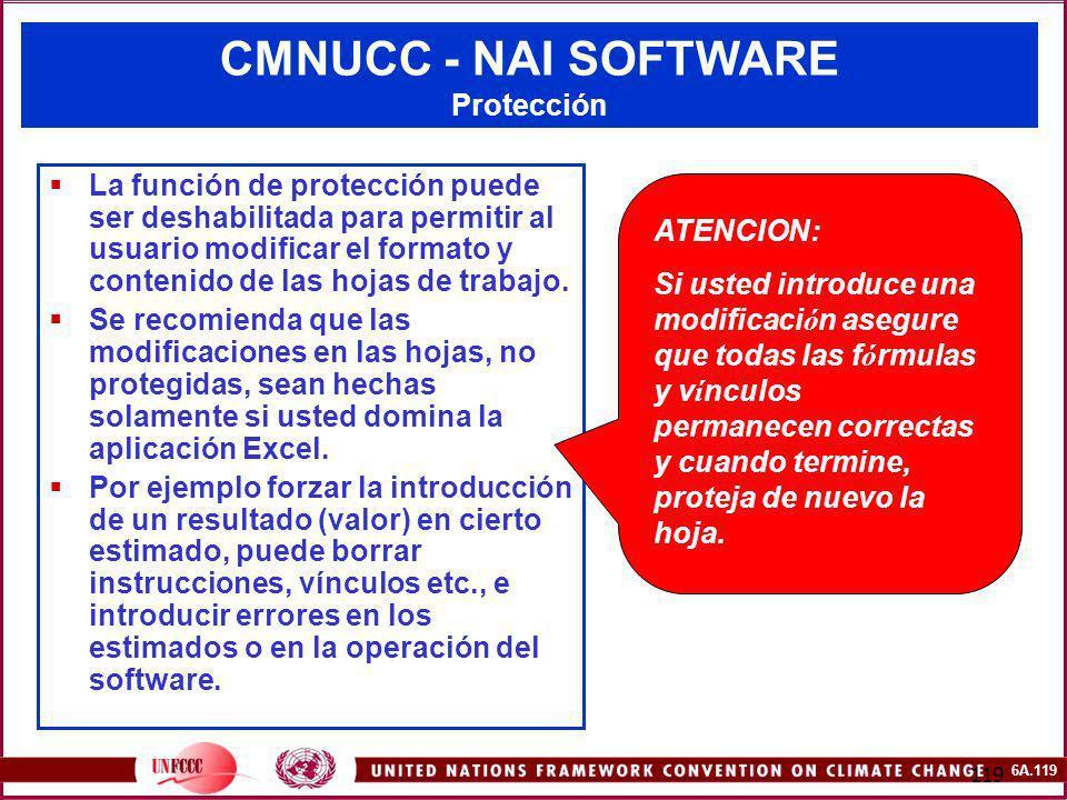 CMNUCC - NAI SOFTWARE Protección