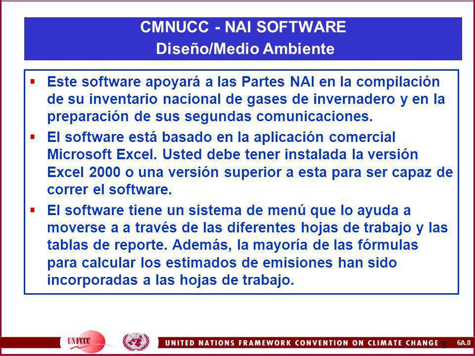 CMNUCC - NAI SOFTWARE Diseño/Medio Ambiente