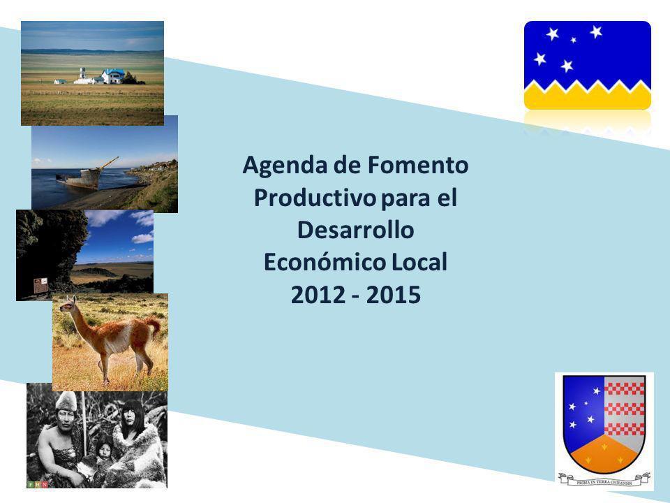 Agenda de Fomento Productivo para el Desarrollo Económico Local 2012 - 2015