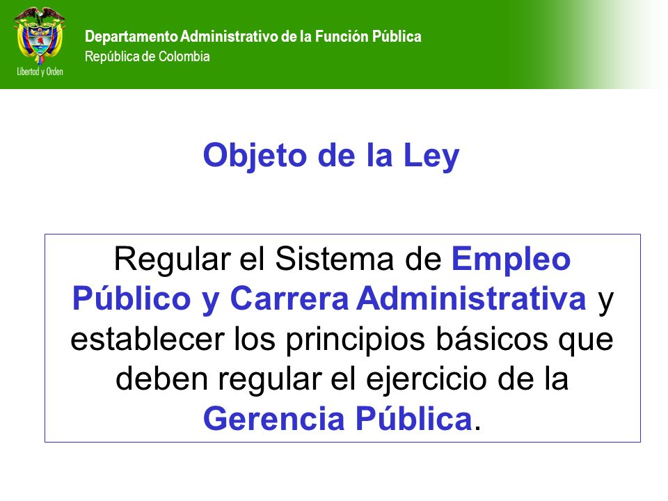 Departamento administrativo de la funci n p blica for Oficina de empleo online