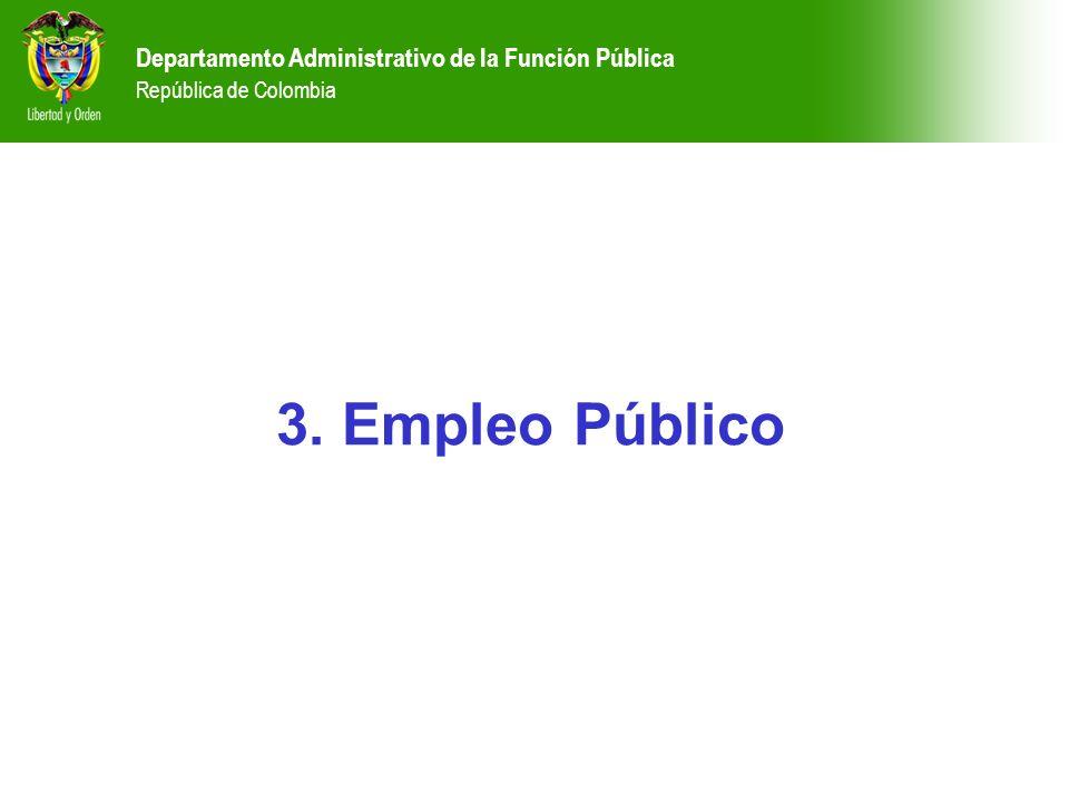 Departamento Administrativo de la Función Pública República de Colombia
