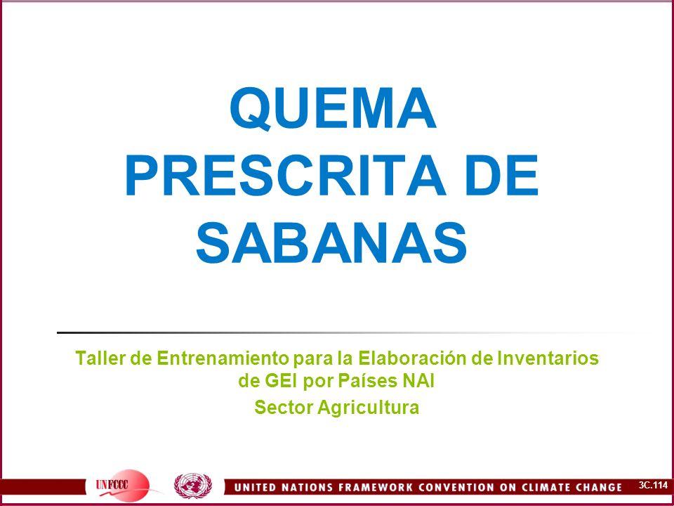 QUEMA PRESCRITA DE SABANAS