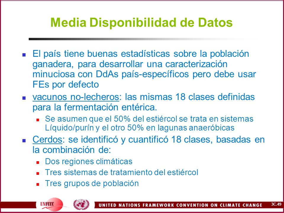 Media Disponibilidad de Datos