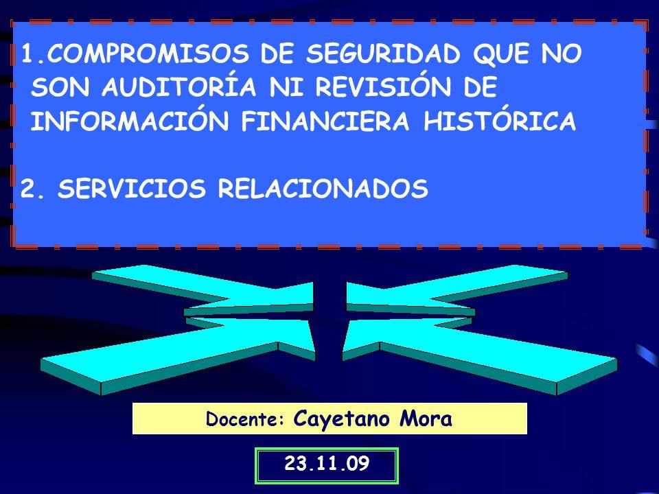 Docente: Cayetano Mora