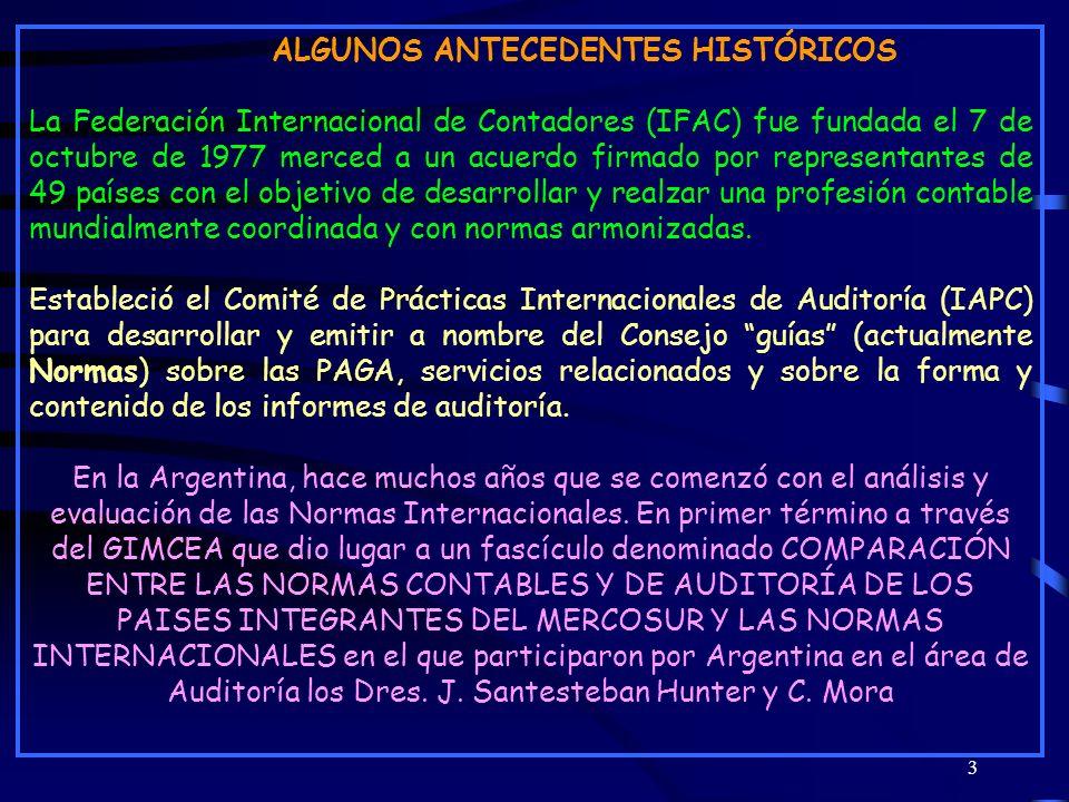 ALGUNOS ANTECEDENTES HISTÓRICOS