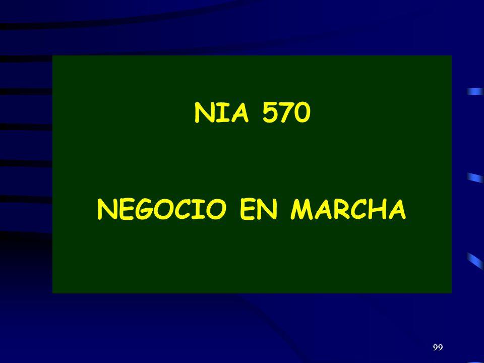 NIA 570 NEGOCIO EN MARCHA 99
