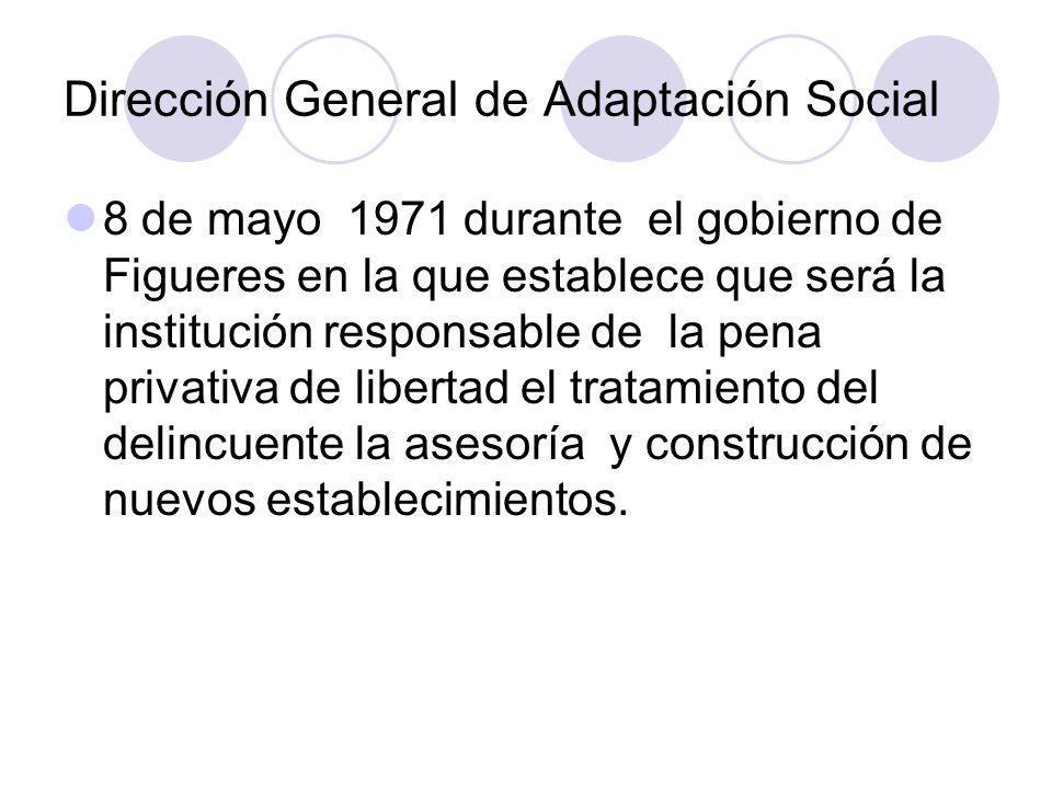 Dirección General de Adaptación Social