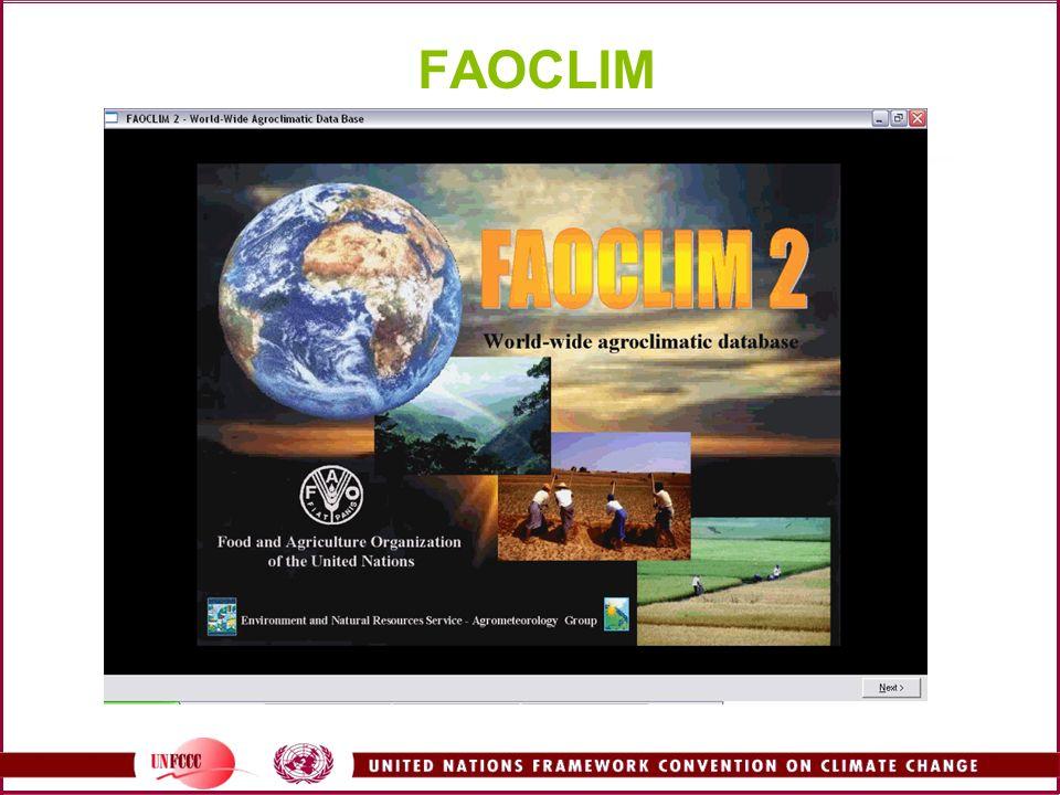 FAOCLIM