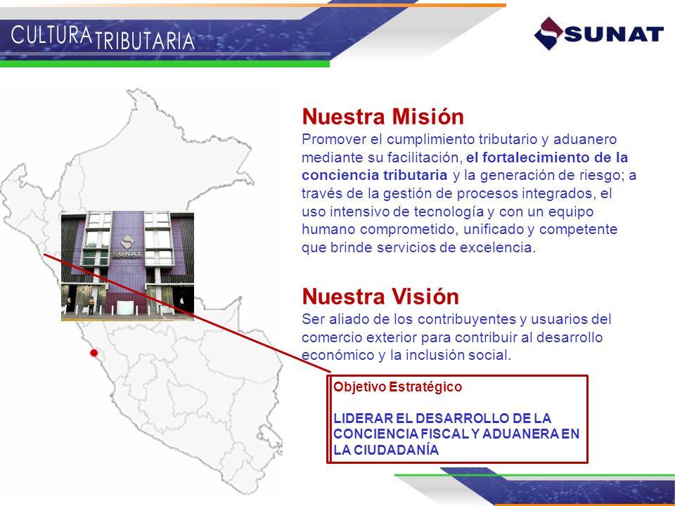 Nuestra Misión Nuestra Visión