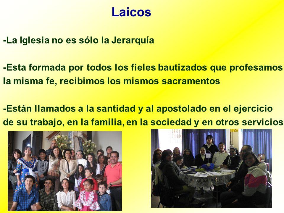 Laicos -La Iglesia no es sólo la Jerarquía