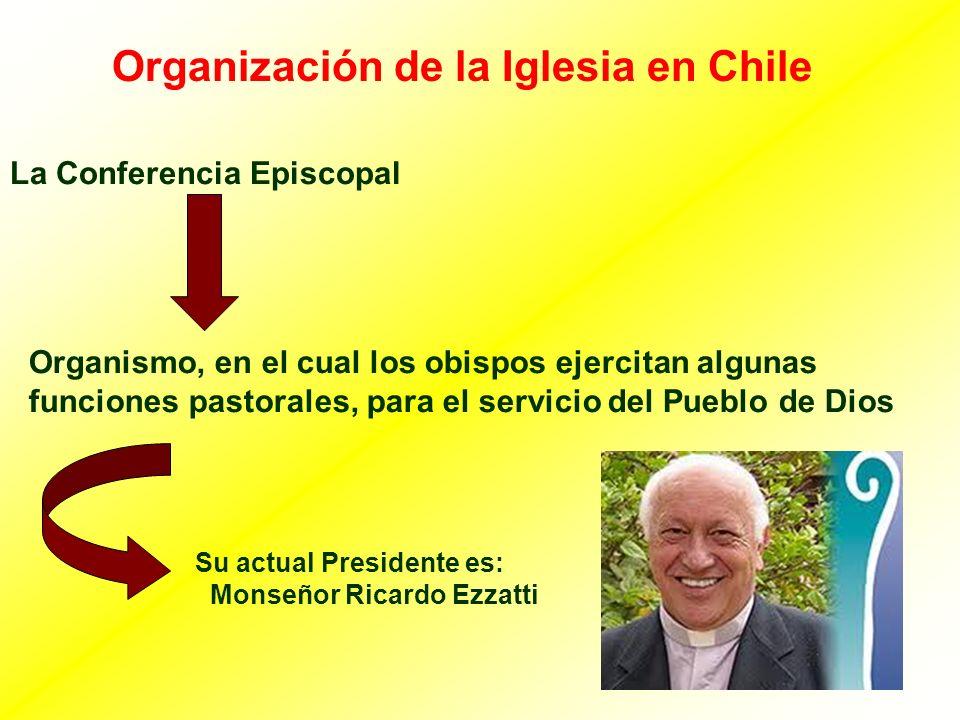 Organización de la Iglesia en Chile