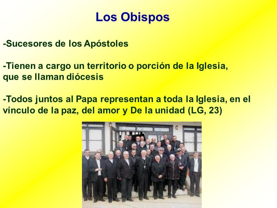 Los Obispos -Sucesores de los Apóstoles