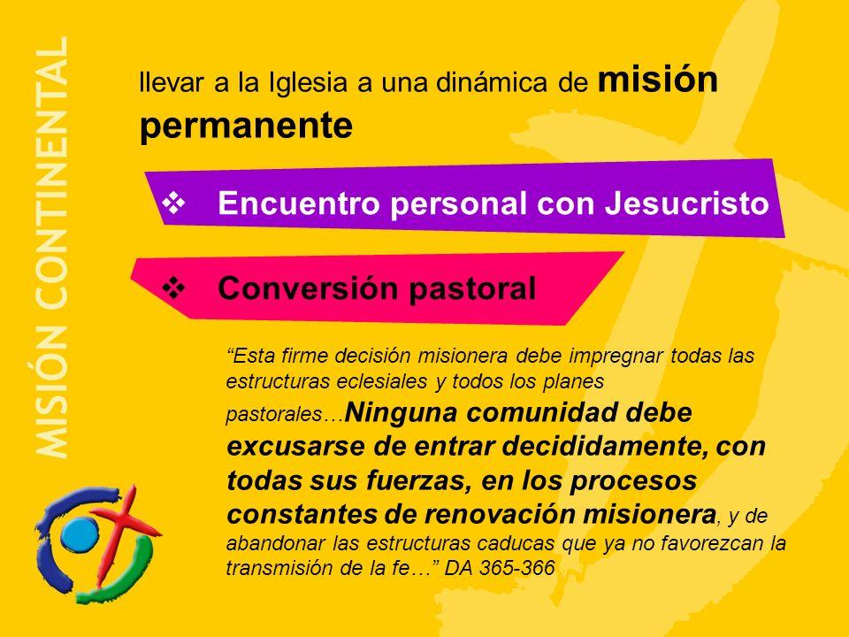 Encuentro personal con Jesucristo Conversión pastoral
