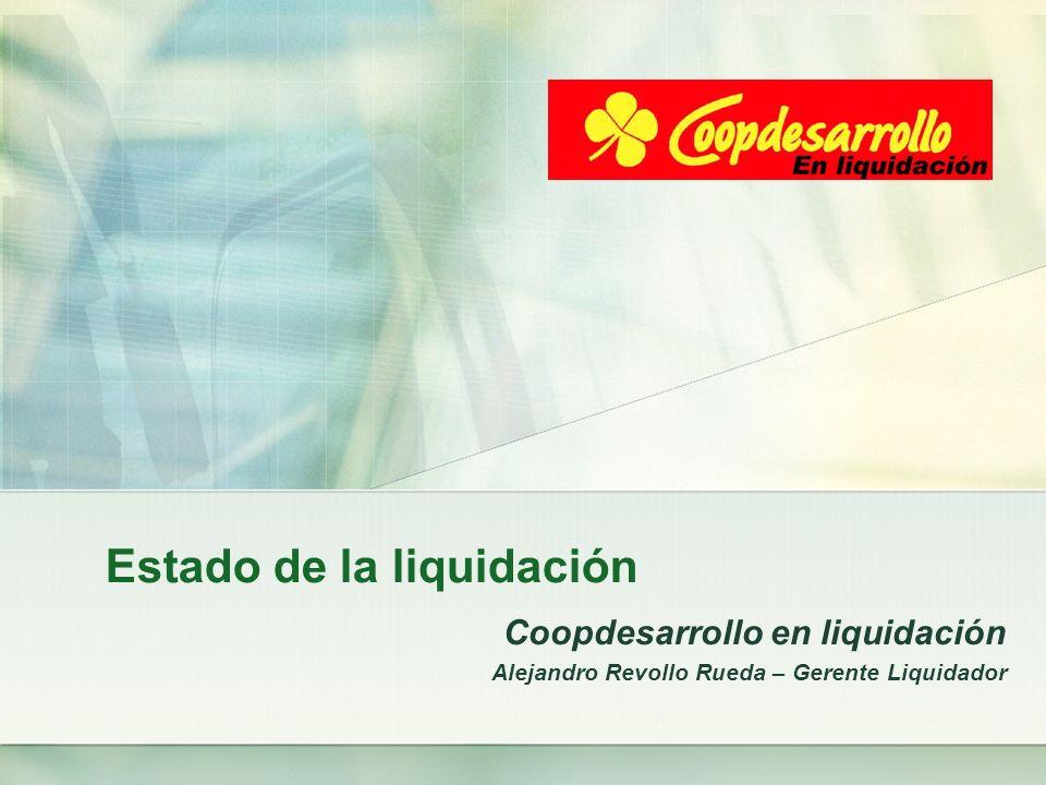 Estado de la liquidación