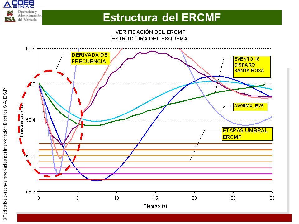Estructura del ERCMF