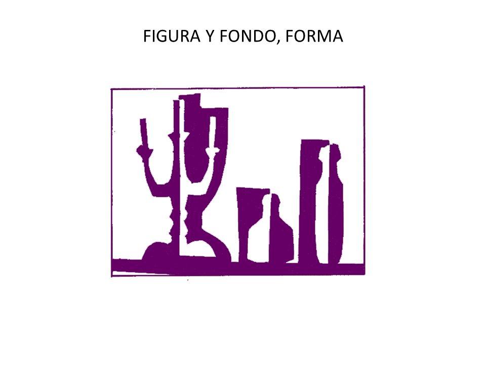 FIGURA Y FONDO, FORMA
