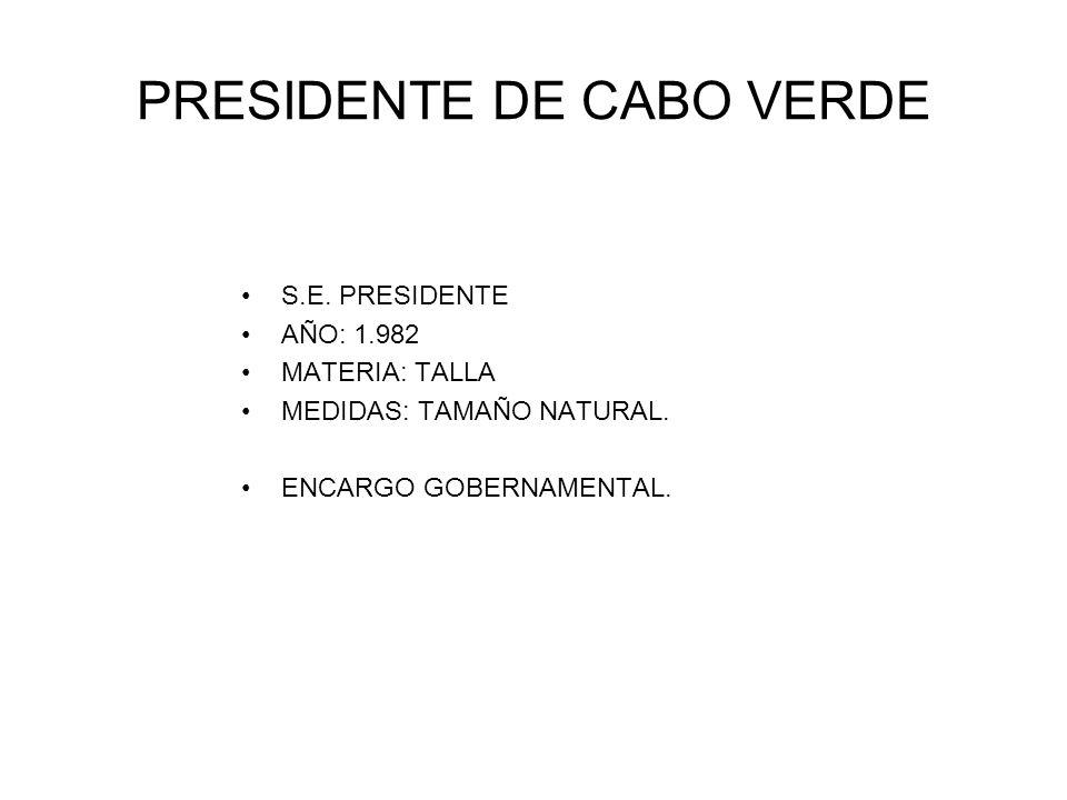 PRESIDENTE DE CABO VERDE