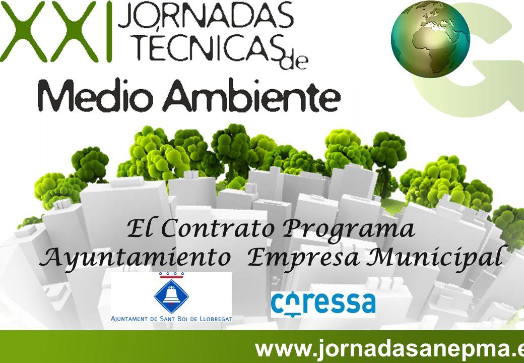 El Contrato Programa Ayuntamiento Empresa Municipal