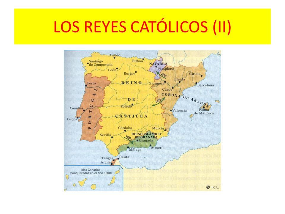 LOS REYES CATÓLICOS (II)