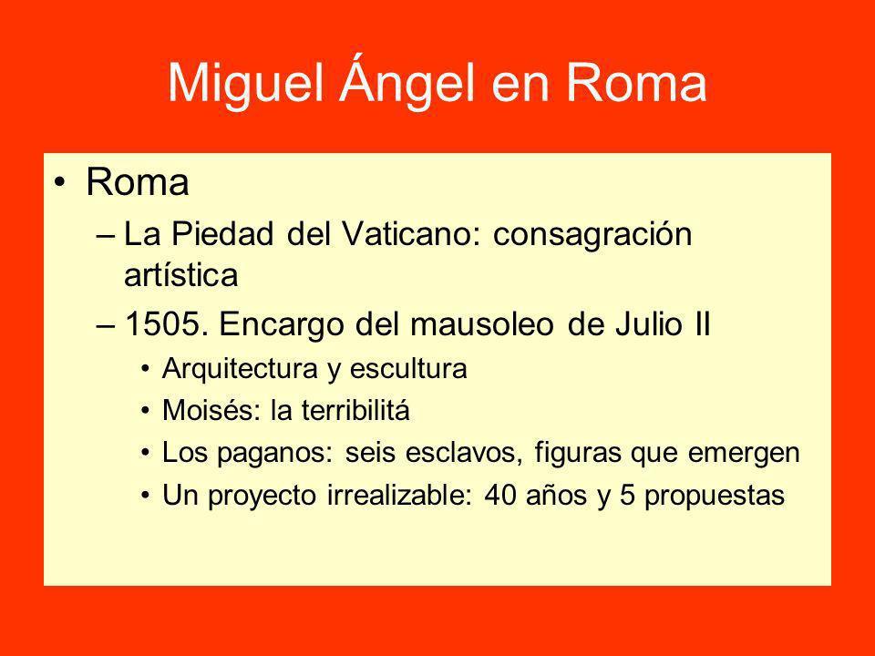 Miguel Ángel en Roma Roma