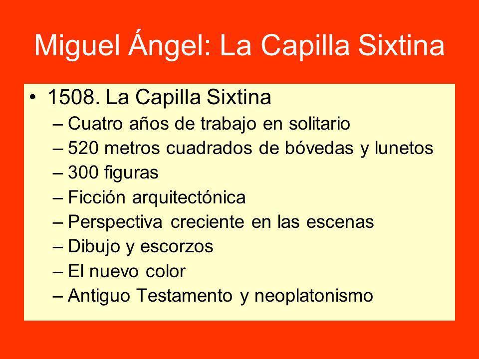 Miguel Ángel: La Capilla Sixtina