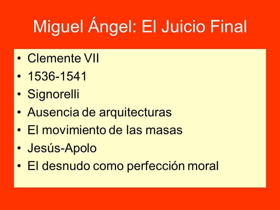 Miguel Ángel: El Juicio Final