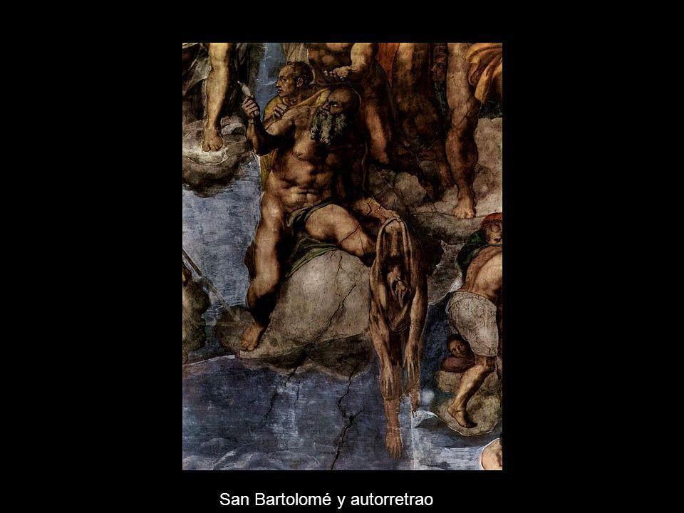 San Bartolomé y autorretrao