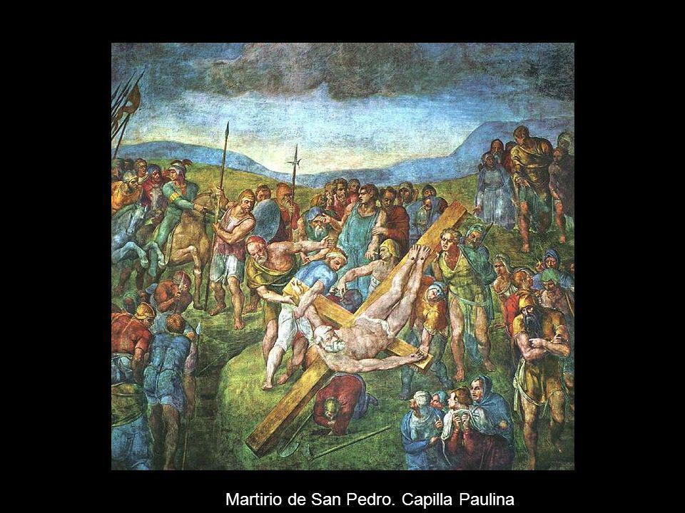 Martirio de San Pedro. Capilla Paulina