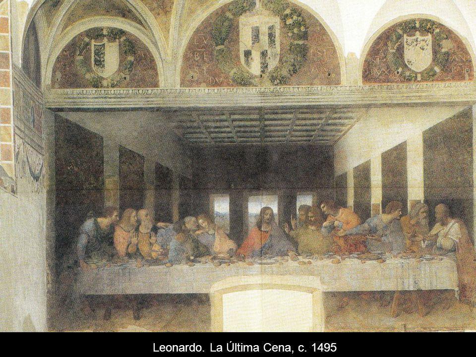 Leonardo. La Última Cena, c. 1495