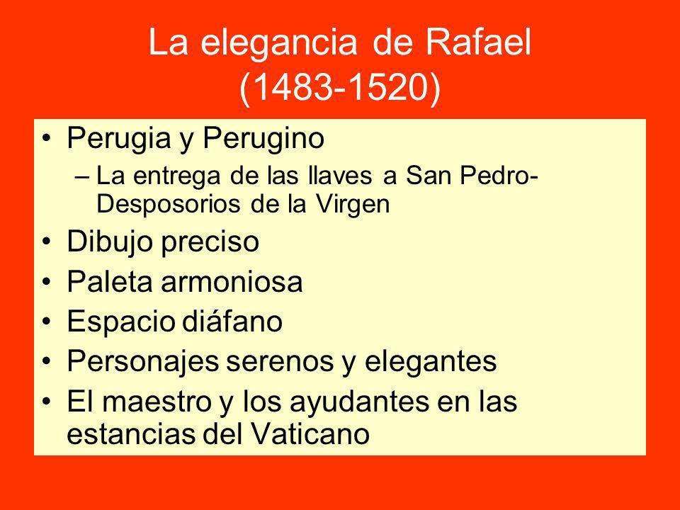 La elegancia de Rafael (1483-1520)