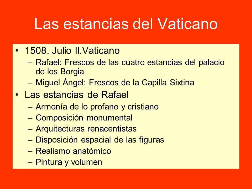 Las estancias del Vaticano