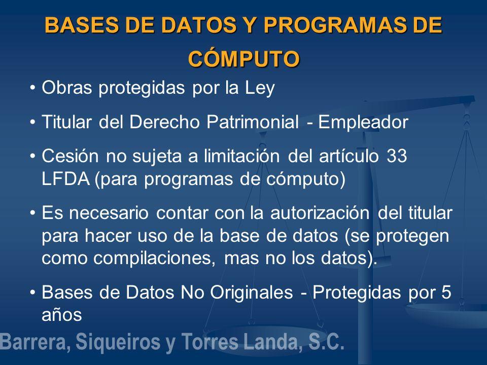BASES DE DATOS Y PROGRAMAS DE CÓMPUTO