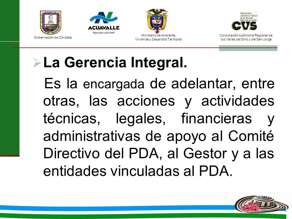La Gerencia Integral.