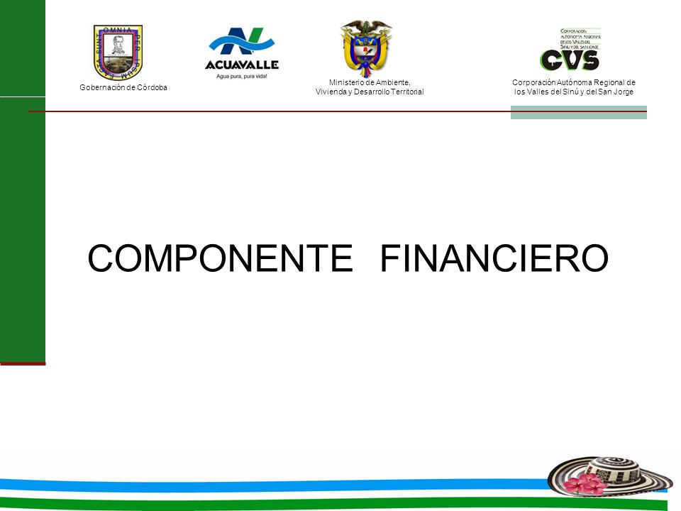 COMPONENTE FINANCIERO